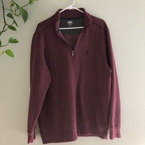 Half zip IZOD pullover